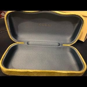 *Price is Firm* Gucci Sunglasses case ONLY